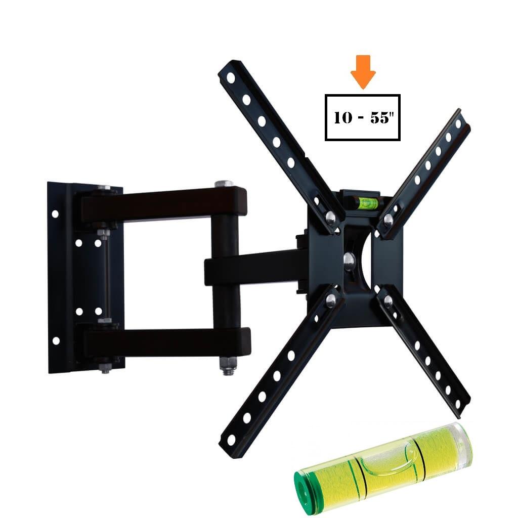 Suporte Tv Lcd 10 a 55 pol Tri Articulado SBRP140 Brasforma