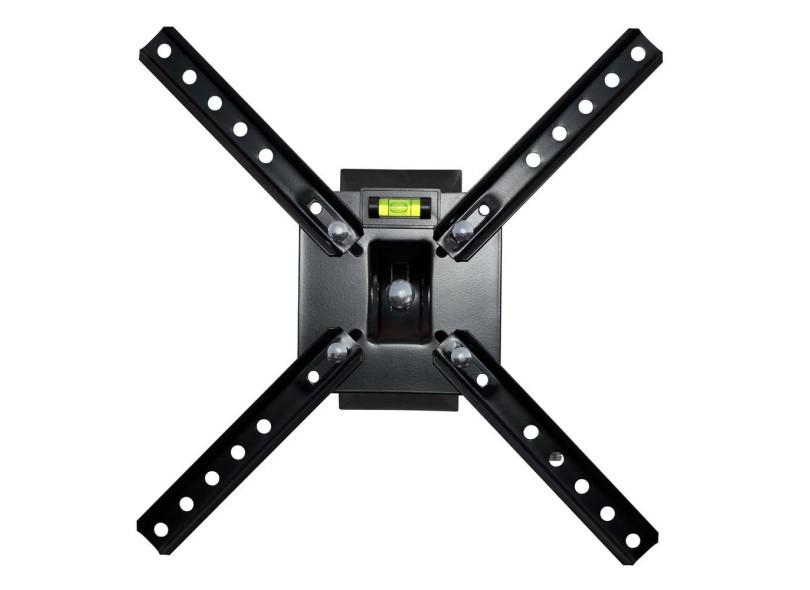Suporte Tv Lcd Plasma Led 10 a 55 pol Articulado SBRP130 Brasforma com nível