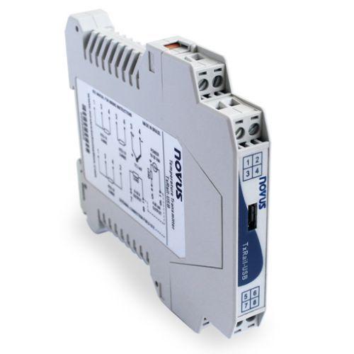 Transmissor de Temperatura TxRail USB Novus