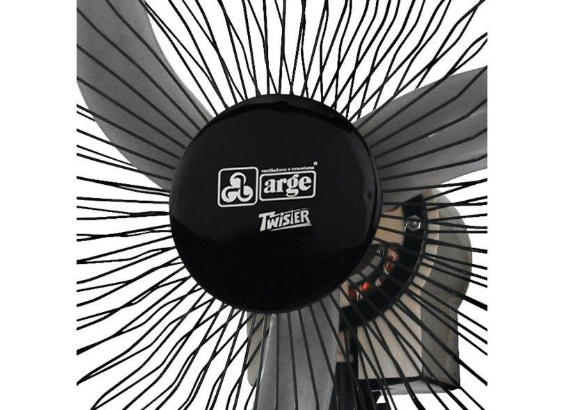Ventilador De Coluna Twister Preto 60Cm Bivolt Arge