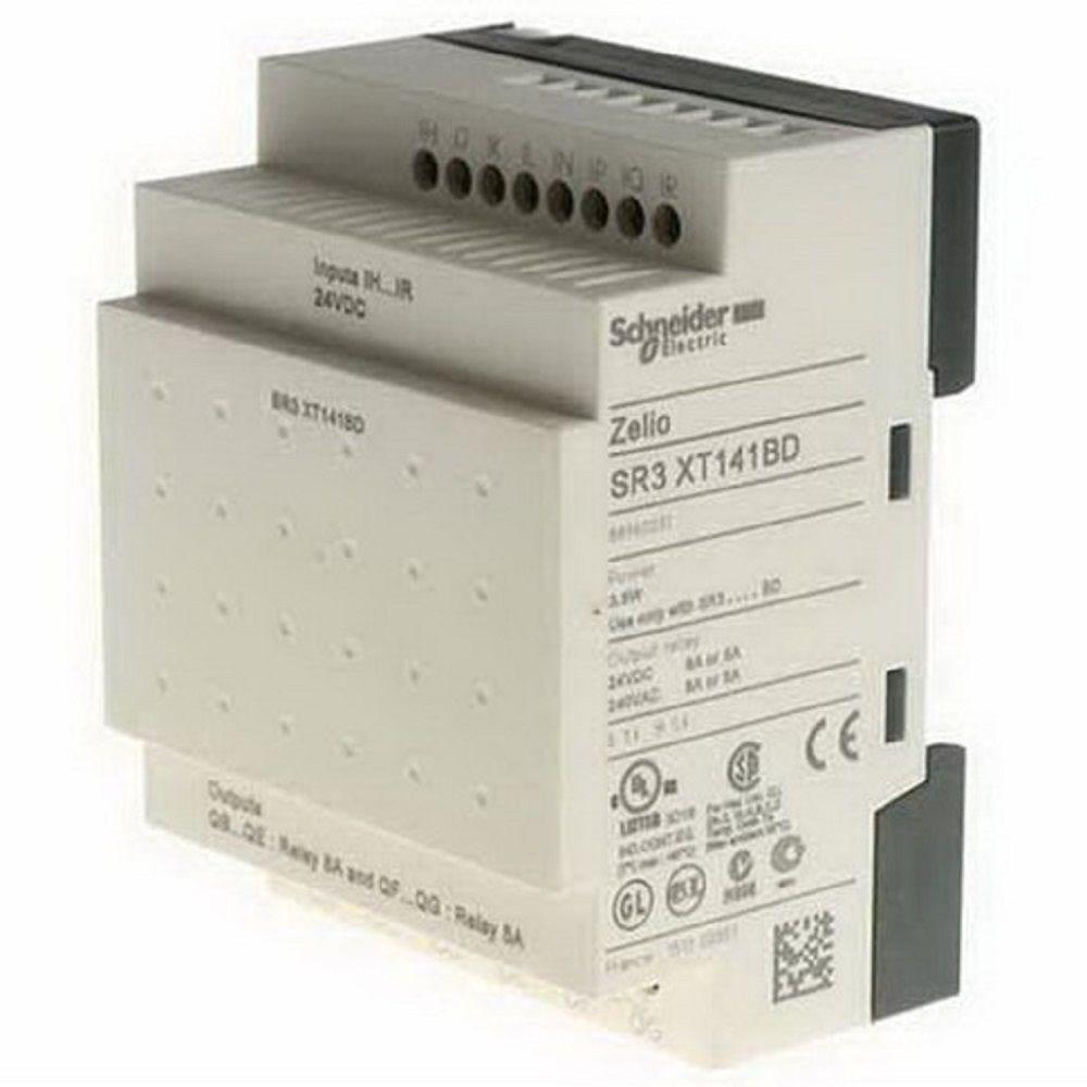 Zelio Logic Mod Exp 14E/S 24VCC SR3XT141BR Schneider