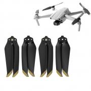 2 Pares de Hélices para Drone DJI Mavic Air 2 - Dourado