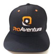 Boné Aba Plana Preto ProAventura