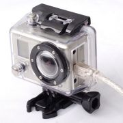 Caixa Estanque Aberta Housing Skeleton para Câmeras GoPro Hero 2