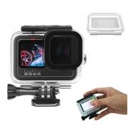 Caixa Estanque para GoPro 9 Black + Tampa Touch