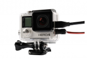 Caixa Estanque Vazada Housing Skeleton para Câmeras GoPro Hero 3+, 4