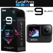 Câmera GoPro Hero 9 Black Wi-Fi à Prova d'água 5k 20MP