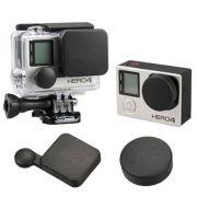 Capas Tampas para proteção da lente e cx estanque GoPro Hero 3+, 4