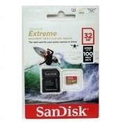 Cartão Microsd 32gb Sandisk Extreme para GoPro SJCam Xiaomi