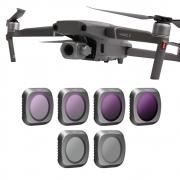 Conjunto 6 Filtros MCUV+CPL+ND4+ND8+ND16+ND32 para drone DJI Mavic 2 Pro