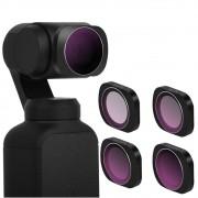 Conjunto de filtros 4-1 para DJI Osmo Pocket  ND4+ND8+ND16+ND32