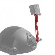Extensor em alumínio para Câmera de Ação GoPro SJCAM - Vermelho