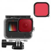 Filtro Mergulho Vermelho para GoPro 9 e 10
