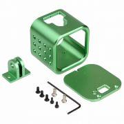Frame Armação Moldura em alumínio para GoPro Session 4,5 - Verde