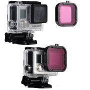 GoPro Acessórios Filtro para Mergulho  Magenta Hero 3+/4
