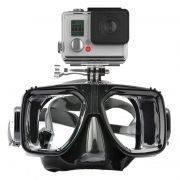 Máscara de Mergulho Óculos para Câmeras de Ação GoPro Hero SJCam Xiaomi