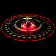 Heliponto ou Pista de Pouso 70cm com iluminação Led para Drones