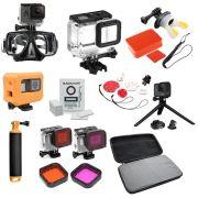 Kit completo GoPro Hero 567 Agua Mar Praia Viagens