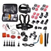 Kit de Suportes e Acessórios Variados Para GoPro, SjCam e Action Cams