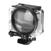 Lente Ampliação / Lupa 10x 58mm Para GoPro Hero 5/6/7 Black