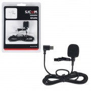 Microfone Lapela Externo ORIGINAL SJCAM SJ8 / SJ9 SJ10pro USB-C