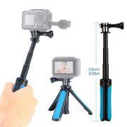 Mini Tripé com encaixe padrão GoPro