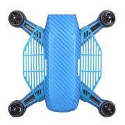 Protetor de dedos Azul para decolagem e pouso nas mãos - Drone DJI Spark