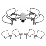 Protetor de Hélices com Extensor Trem de Pouso Drone DJI Mavic Air 2