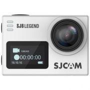 Sjcam Sj6 Legend Wifi - Actioncam 4k - Original + Acessórios - Prata