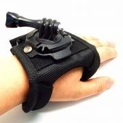 Suporte de mão palma luva rotaçao 360 Hand Wrist Bands - GoPro Hero 2-6