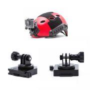 Suporte Paintball e Airsoft  em alumínio para Câmeras de Ação GoPro Hero SJCam Xiaomi