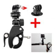 Suporte para guidão e cilindro de bike/moto para Câmeras de Ação GoPro Hero SJCam Xiaomi