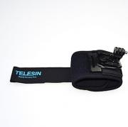 Suporte Punho Pulso Telesin para Câmeras de Ação GoPro Hero SJCam Xiaomi