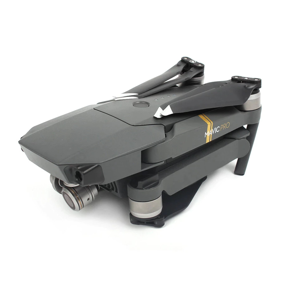 2 Pares de Hélices Dobráveis Sunnylife Prata para Drone DJI Mavic Pro Platinum
