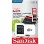 Cartão Memória Sandisk Ultra MicroSDHC 32gb 100MBs