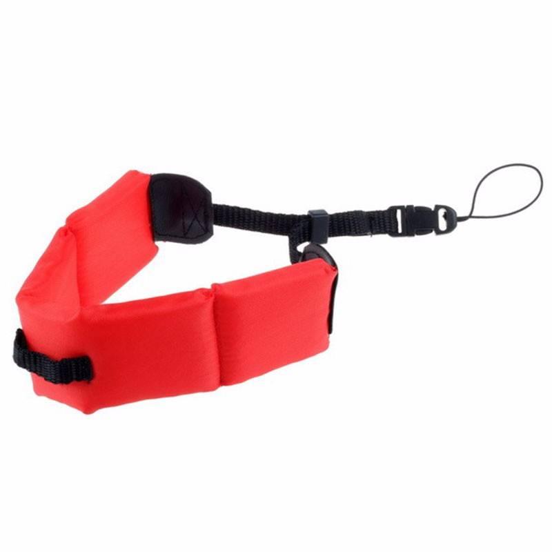 Acessório Bóia De Flutuação Braço Punho Gopro 2-6 Vermelho