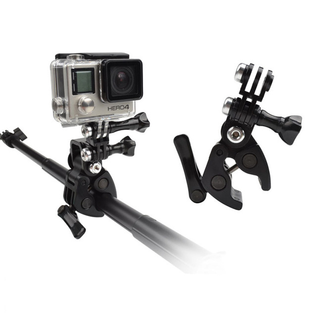 Clip Arma Vara Arco Pesca PaintBall para Câmeras de Ação GoPro Hero SJCam Xiaomi