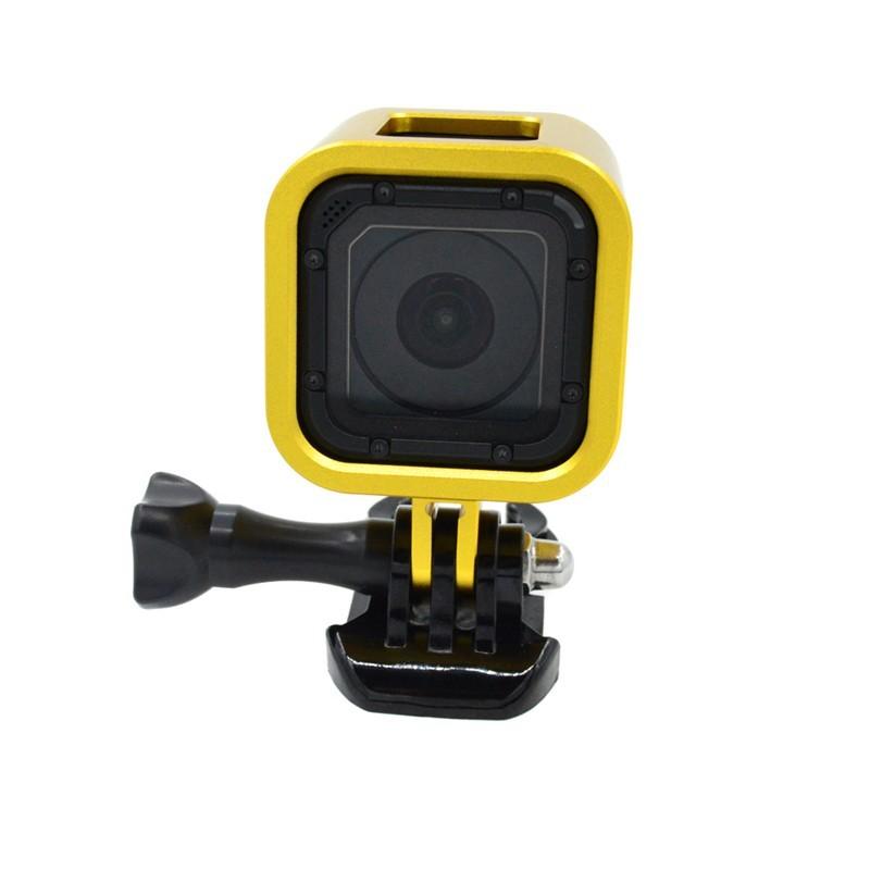 Frame armação para Câmeras GoPro Session 4, 5 - amarelo