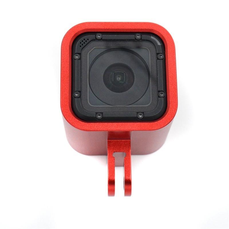 Acessório Frame Armação GoPro Session 4,5 - vermelho