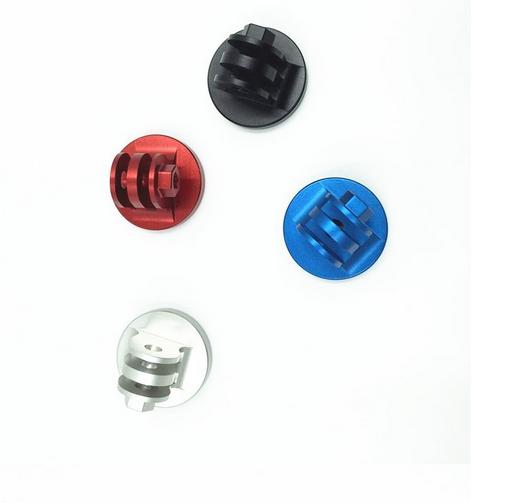 Adaptador de tripe em alumínio preto - GoPro 2-6