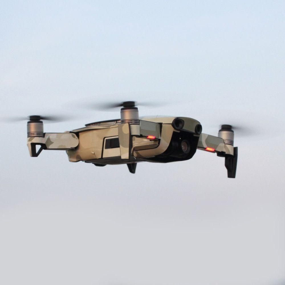 Adesivos Decorativos Drone DJI Mavic Air e Controle Remoto - Camuflado Marron