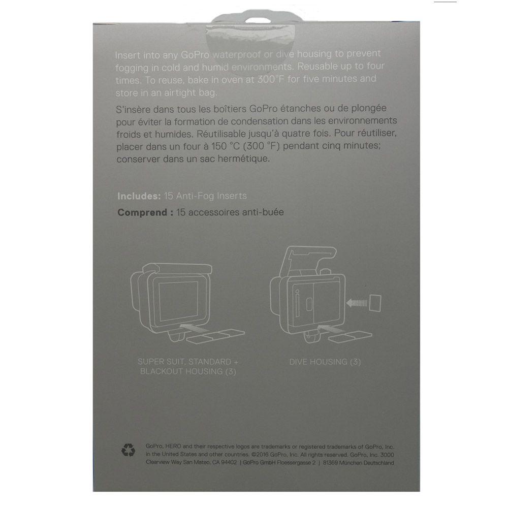 Anti-Fog Desembaçador Original para Câmeras de Ação GoPro Hero SJCam Xiaomi