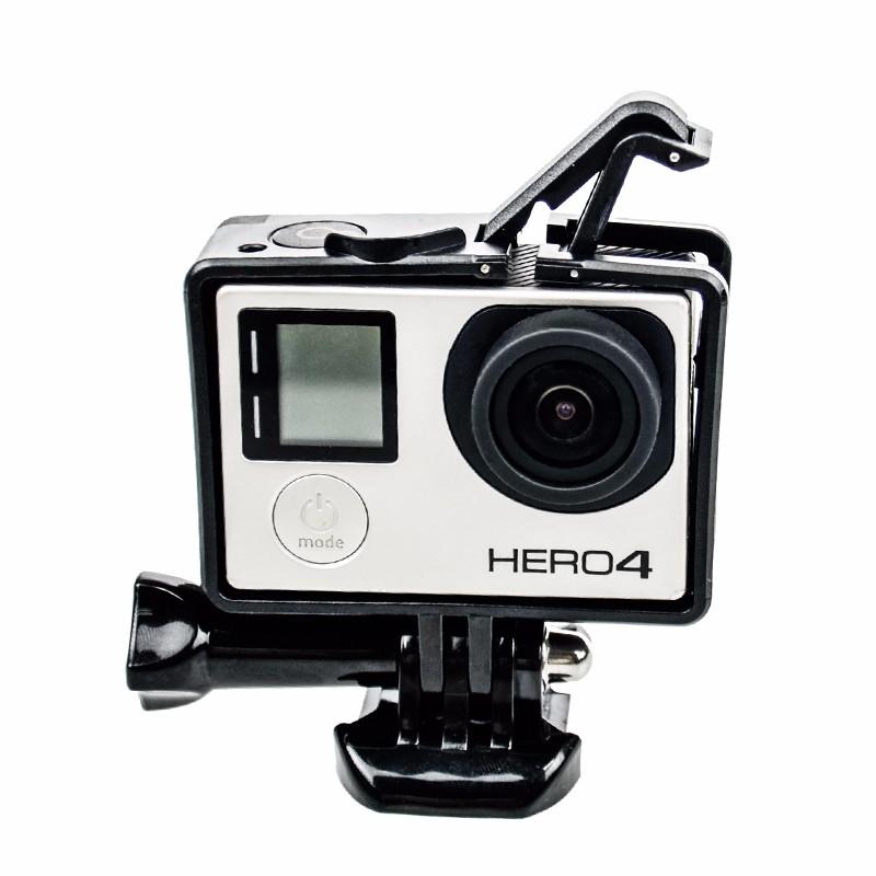 Armação Frame Trava Andfr-301 e Protetor Lente - GoPro Hero 3-4