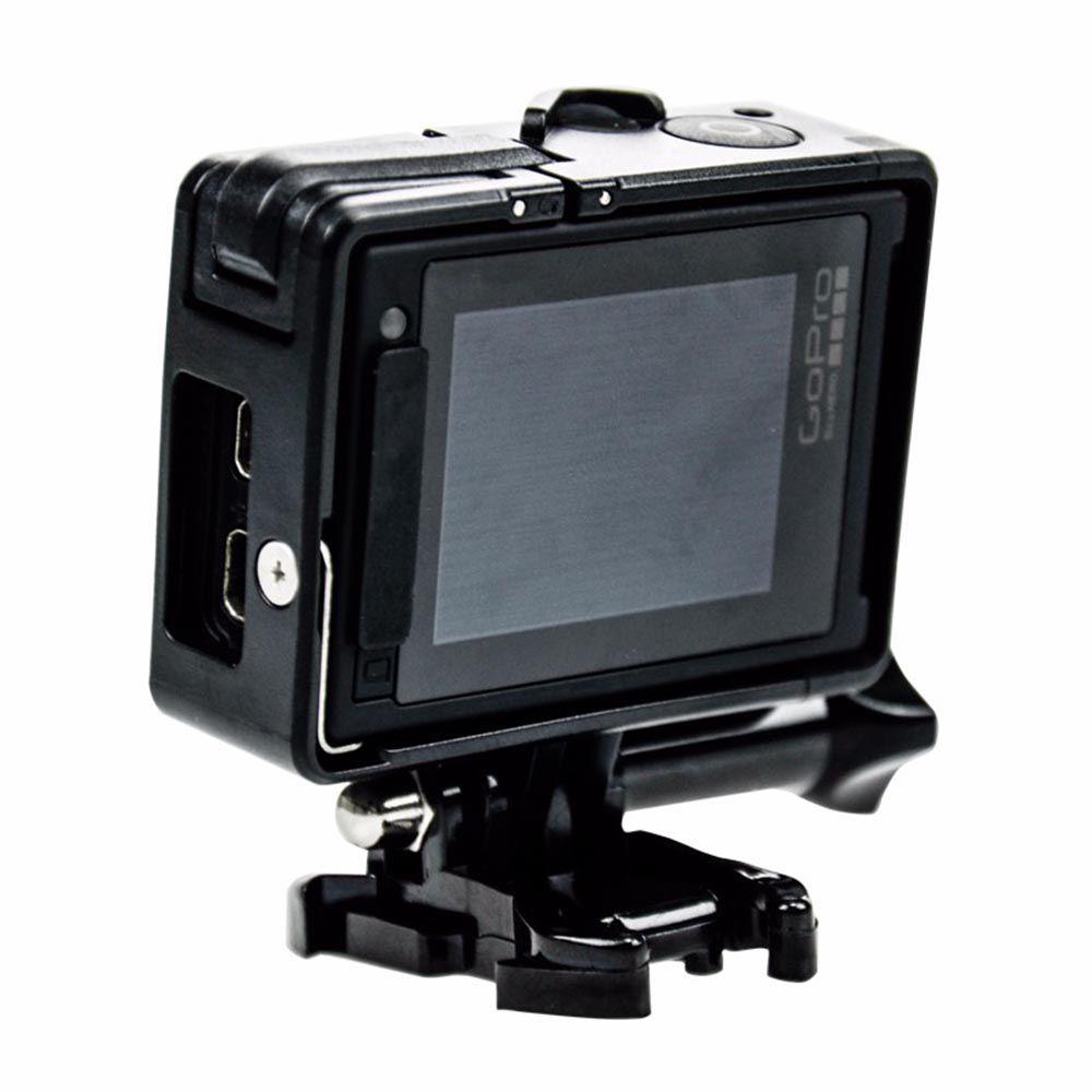 Armação Frame Trava e Protetor Lente para GoPro Hero 3, 3+, 4