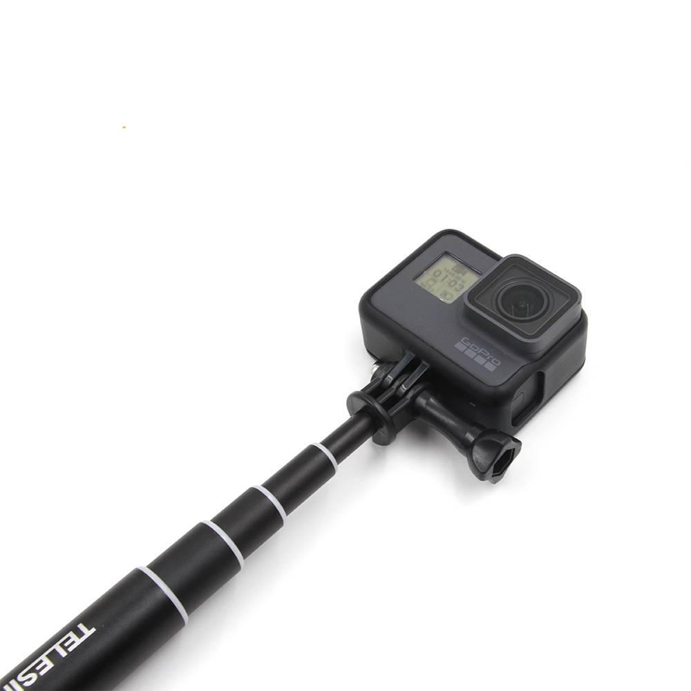 Bastao Aluminio Selfie Prova D'agua 2,5mts Hero 1-6