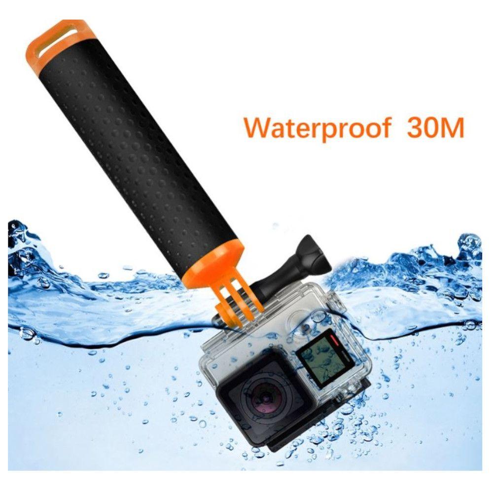 Bastão Flutuante para GoPro SjCam 18cm - Laranja
