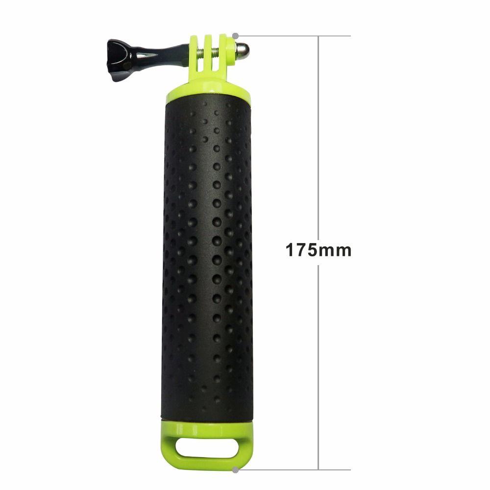 Bastão Flutuante para GoPro SjCam Xiaomi 18cm - Verde