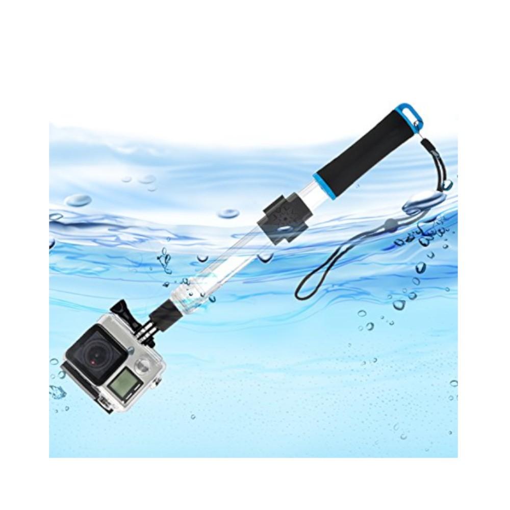 Bastão Flutuante Retrátil Prova D'água para Câmeras de Ação GoPro SJCam Xiaomi