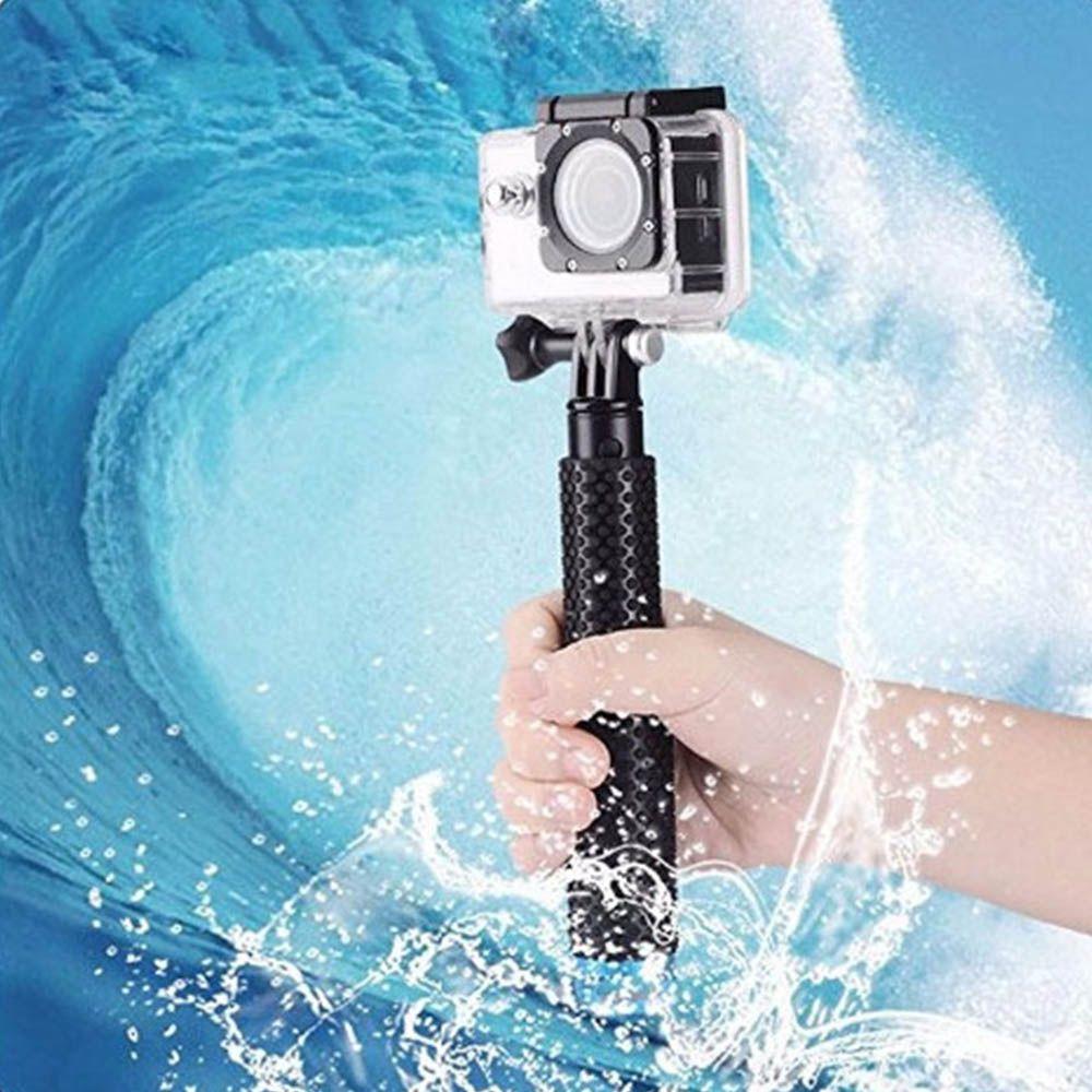Bastão Retrátil Prova D'água 18-48cm para GoPro Hero SJCam Xiaomi - Verde