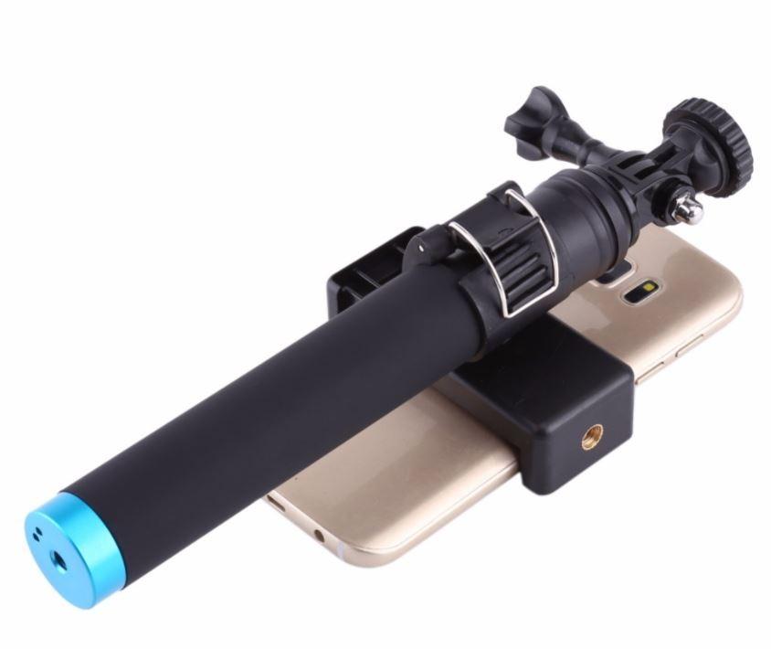Bastao Selfie Aluminio  Gopro Celular Sjcam Monopod Telesin